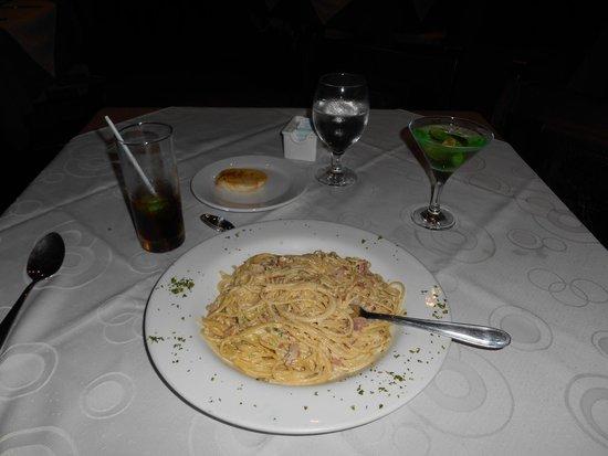 Linda Vista Hotel : And more delicious Pasta