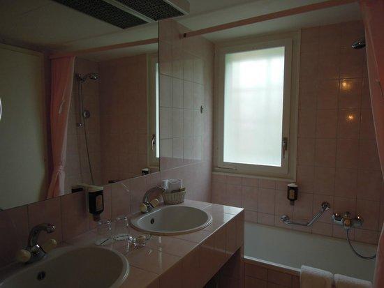 Hotel Wengener Hof: Bathroom