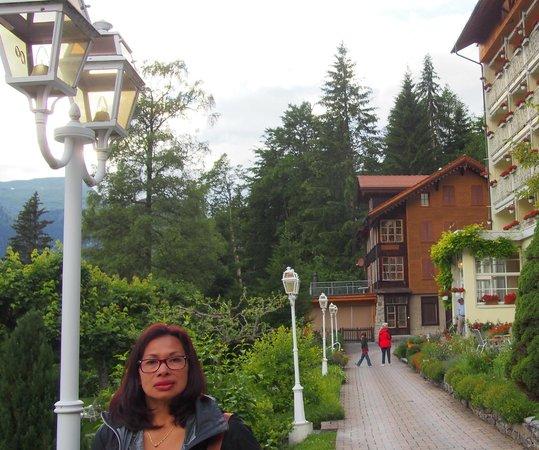 Hotel Wengener Hof : Front of Hotel