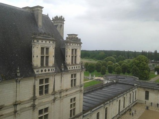 Château de Chambord : dal tetto