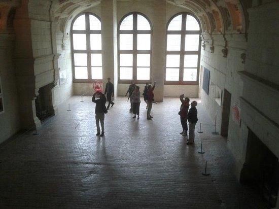 Château de Chambord : interno
