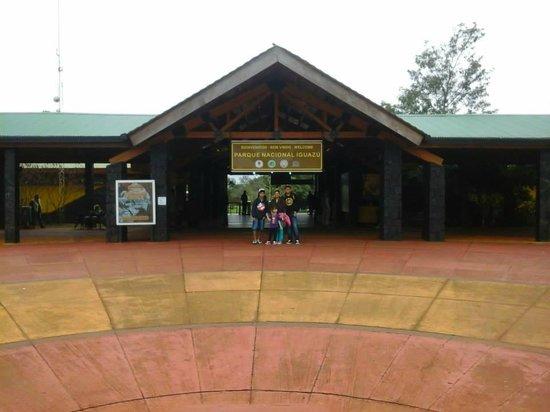 Iguazu Falls: entrada