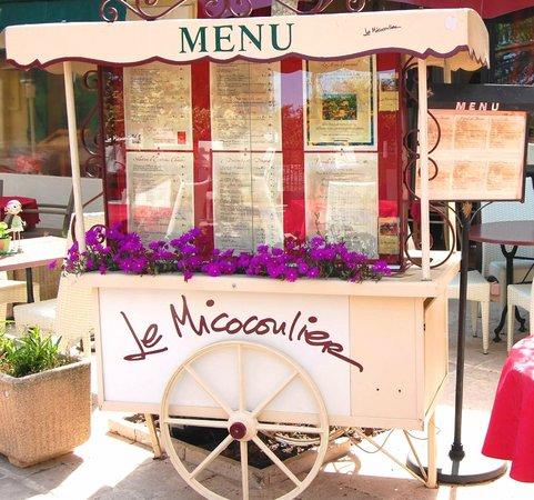 Le Micocoulier : Présentation menu