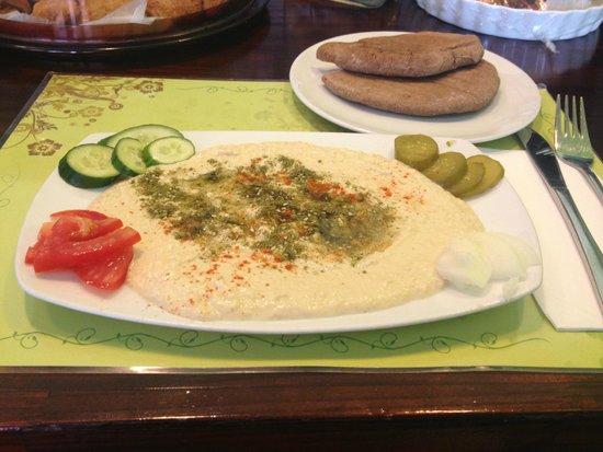 Taste of Life Restaurant : A Meal-Worthy Hummus Platter