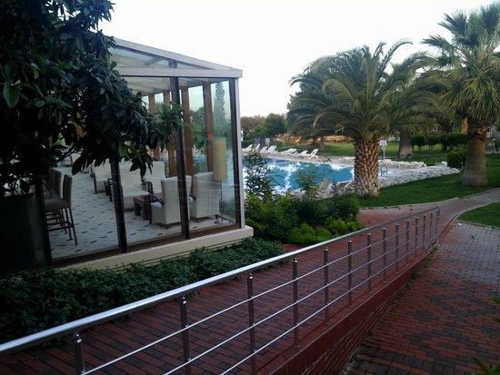 Lycus River Hotel: Pileta externa climatizada