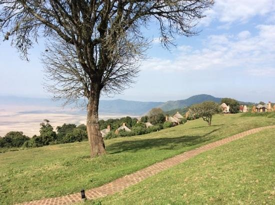 andBeyond Ngorongoro Crater Lodge: DOWN INTO THE CRATER