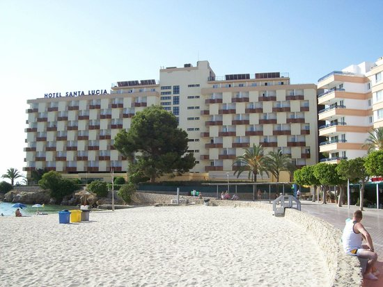Globales Santa Lucia: View of hotel