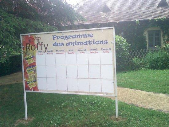 Les Grottes de Roffy : Le programme des animations en juillet ...