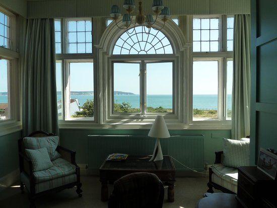 The Beach House: view from the bedroom