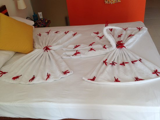 Otium Hotel Seven Seas : nice room decoration