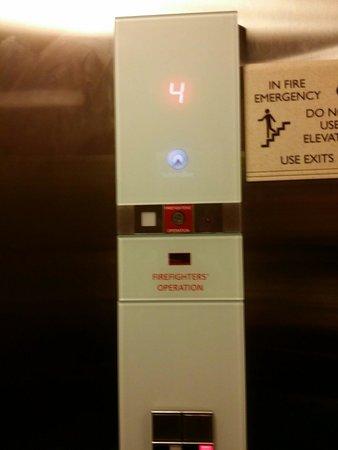 Elevator Picture of Hilton Garden Inn Salt Lake City Airport Salt