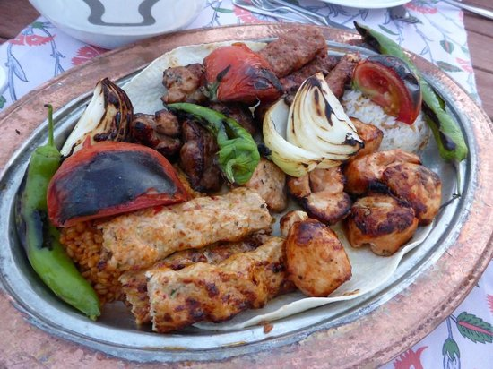 Otium Hotel Seven Seas : Turkish grilled meat
