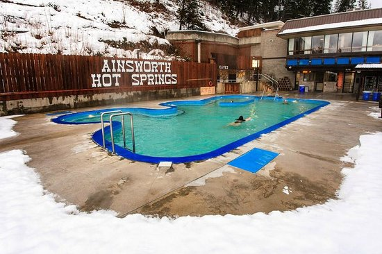 Ainsworth Hot Springs Resort: hot and cold therapy