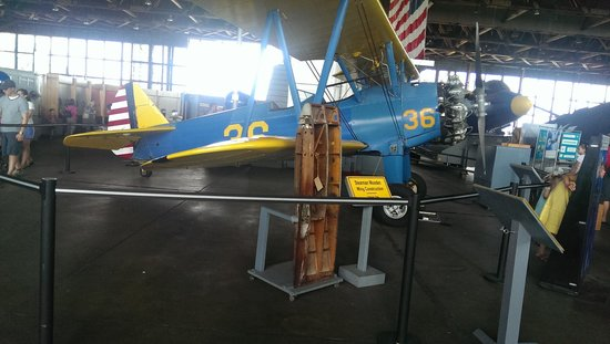Naval Air Station Wildwood Aviation Museum: one of the planes.