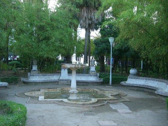 Parque de Málaga: FOUNTAIN IN MIDDLE OF THE PARK