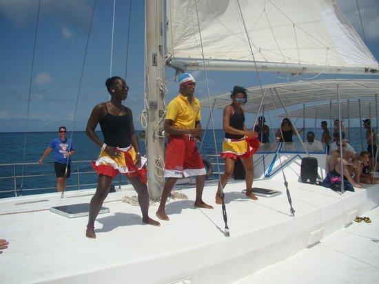 IFA Villas Bavaro Resort & Spa : sur le catamaran pour l'isle de saona