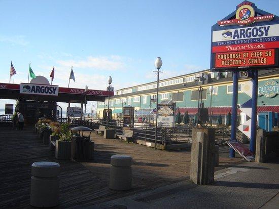 Argosy Cruises - Seattle Waterfront : Pier view