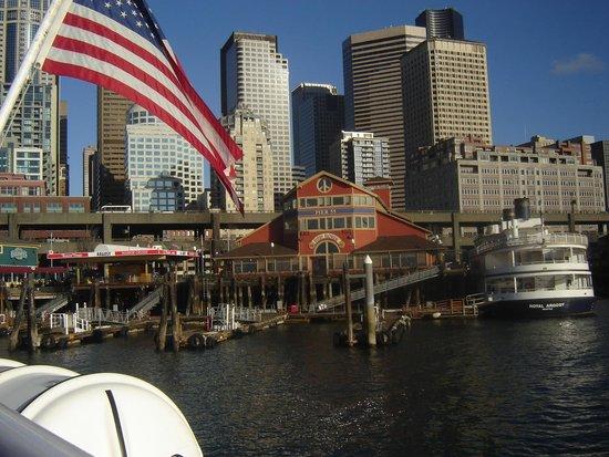 Argosy Cruises - Seattle Waterfront : Bela vista