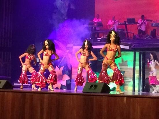 Barcelo Bavaro Beach - Adults Only: great shows on nightly.