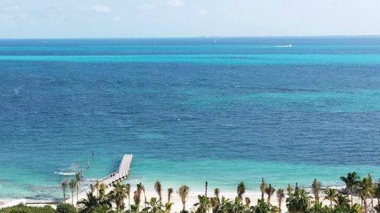 Hotel Riu Palace Peninsula : Praia vista do quarto