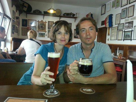 The Strahov Monastic Brewery: Очень вкусное пиво особенно мало встречал такого