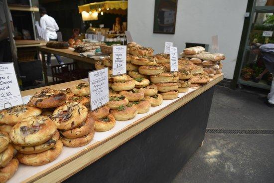 Borough Market: Foccacia from bread ahead