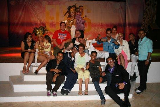Seabel Rym Beach : Die Showbühne