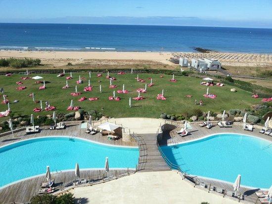 Crowne Plaza Vilamoura - Algarve: Uitzicht van balkon