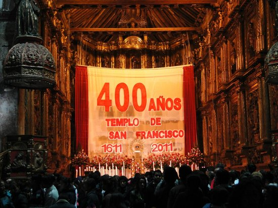 Foto Sma Santa 2011-Iglesia de San Francisco-Bogota
