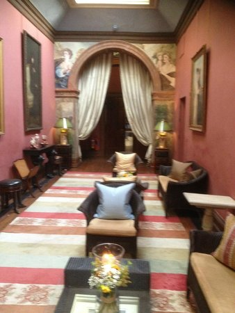 Castle Leslie Estate: Room in main castle
