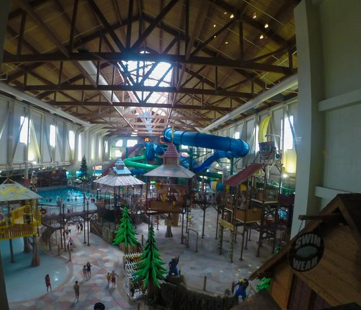Great Wolf Lodge: Indoor waterpark
