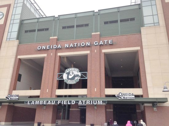 Lambeau Field: Entrance Gate