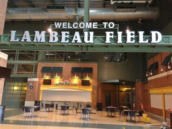 Lambeau Field: Inside stadium