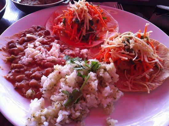 Mex: Shrimp tacos