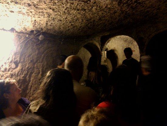 Kaymakli Underground City: Interior de la ciudad subterranea