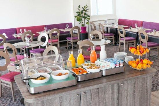 Comfort Hotel Bordeaux sud à Gradignan : Petit déjeuner buffet