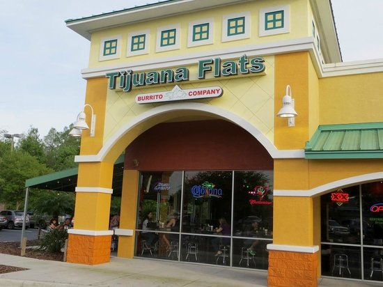 Tijuana Flats: Outside view.