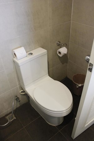 Prima Villa Hotel: туалет