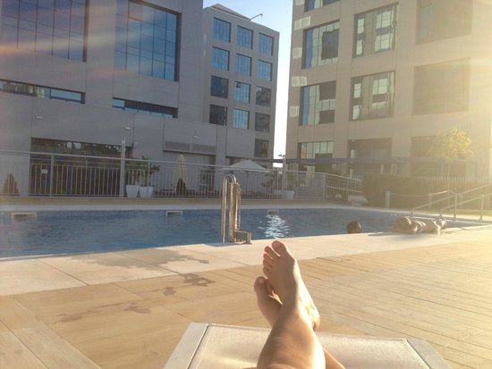 Hilton Garden Inn Sevilla : Pool