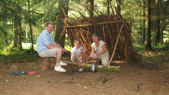 Keswick Canoe and Bushcraft: Shelter and Fire