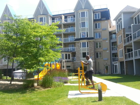 Living Water Resort: Back view