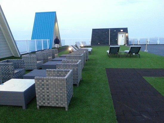 Living Water Resort: Part of roof top