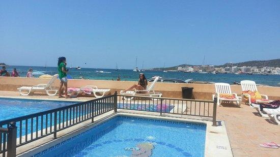Hotel Club S'Estanyol: vista desde la piscina