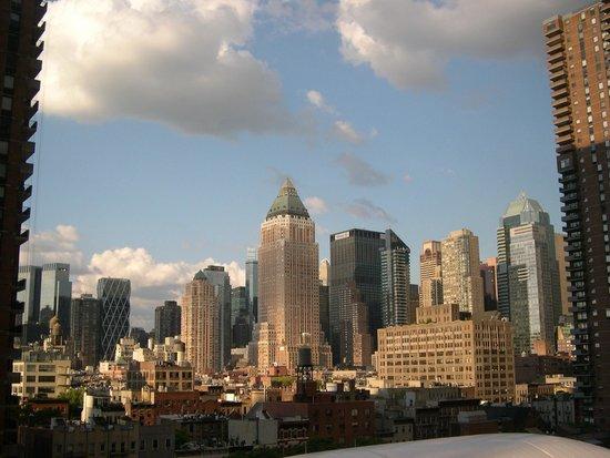 YOTEL New York at Times Square West : Vue depuis ma chambre au 9ème étage