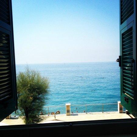 Hotel Caravella: Camera vista mare
