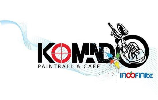 Komando Paintball & Cafe: our logo