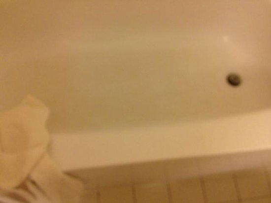 Crowne Plaza Hotel Cincinnati Blue Ash: Dirty tub