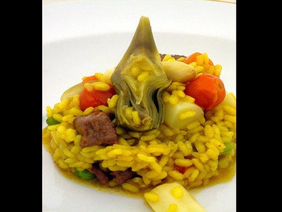 New Hotel: Arroz con verduras de temporada