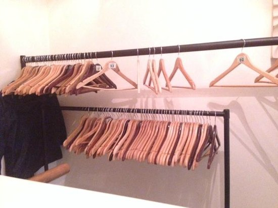 Sands by the Sea: Cloak Room