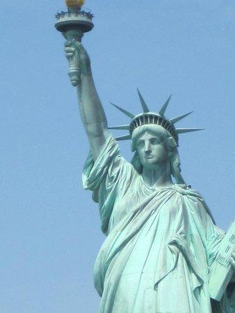 Statue de la liberté : parte superior de liberty